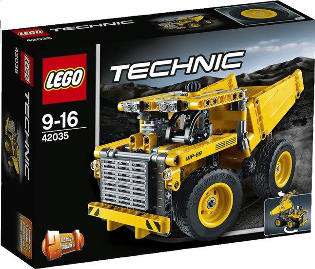 Afbeelding van LEGO Technic 42035 Mijnbouwtruck from ColliShop