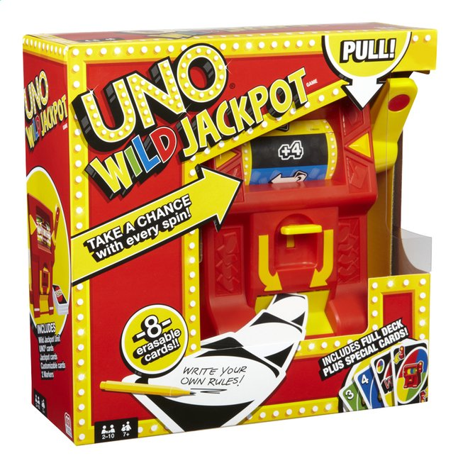 Afbeelding van Uno Wild Jackpot from ColliShop