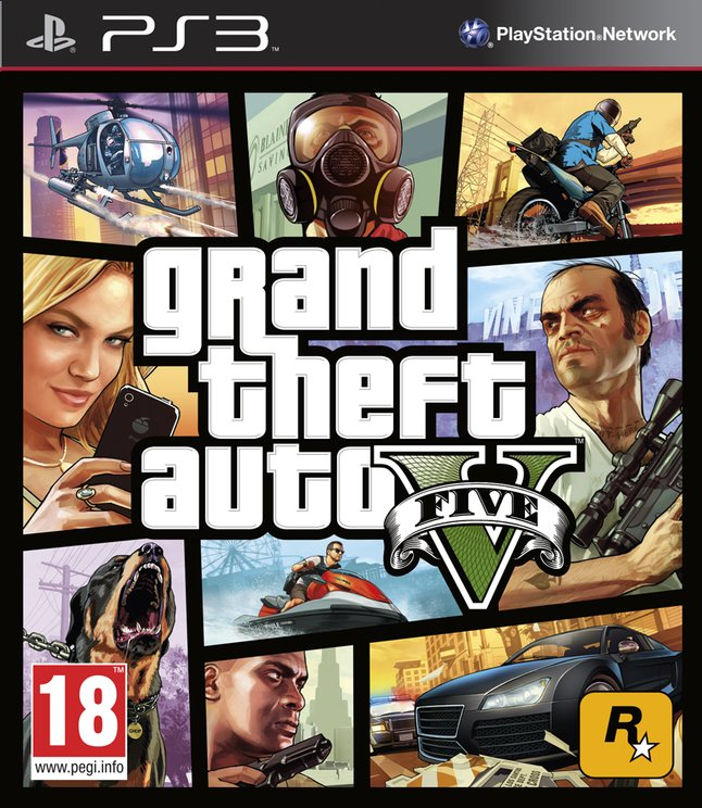 Afbeelding van PS3 Grand Theft Auto V FR from ColliShop