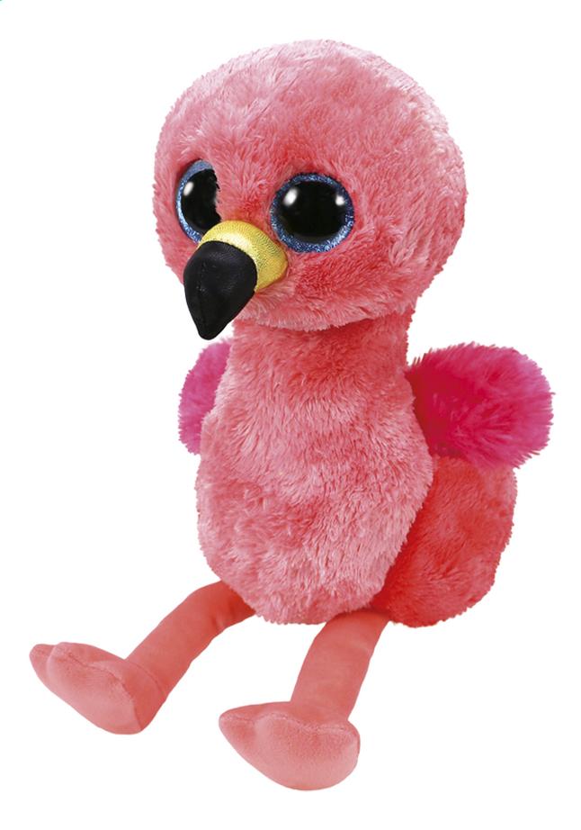 Knuffel TY Beanie Boos Gilda de Flamingo 23 cm