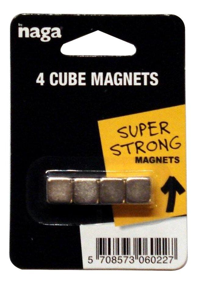 Afbeelding van Naga Magneet inox - 4 stuks from ColliShop