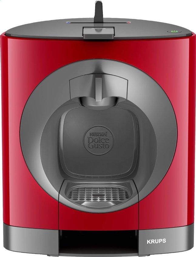 Krups machine espresso dolce gusto oblo kp110510 rouge gris collishop - Dolce gusto oblo rouge ...
