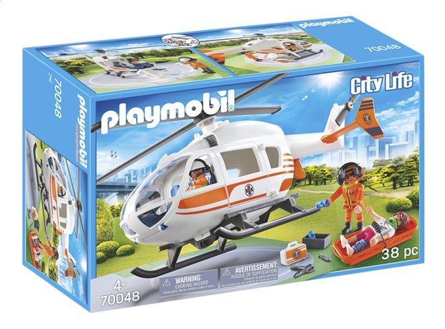 Afbeelding van PLAYMOBIL City Life 70048 Eerste hulp helikopter from ColliShop
