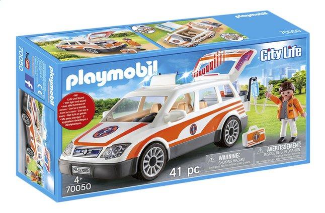 Image pour PLAYMOBIL City Life 70050 Voiture et ambulanciers à partir de ColliShop