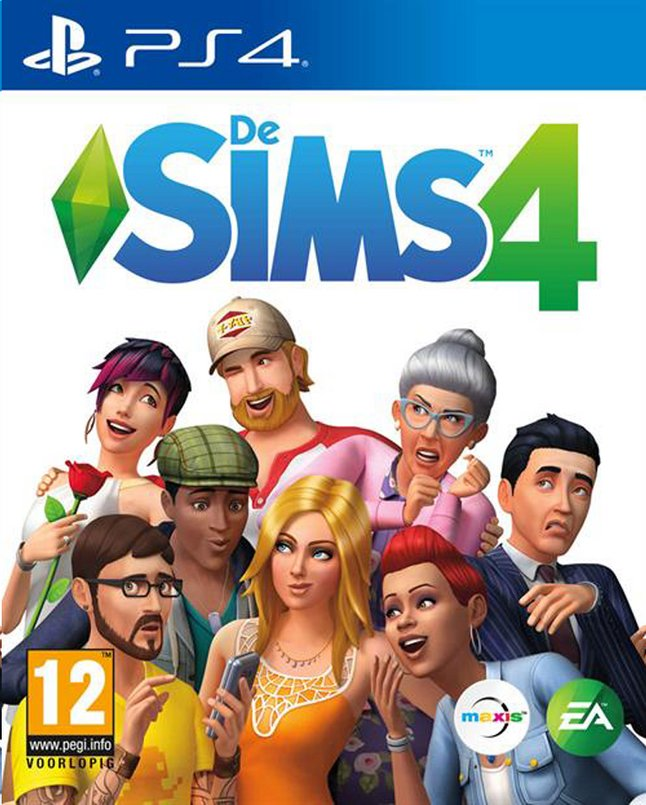 PS4 Sims 4 NL