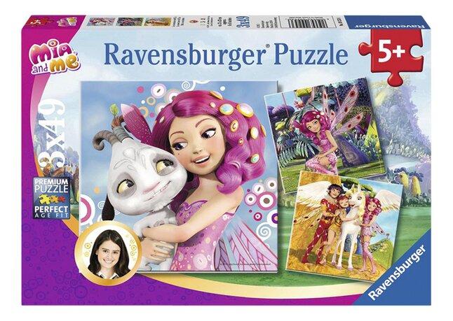 Image pour Ravensburger puzzle 3 en 1 Mia et moi à partir de ColliShop