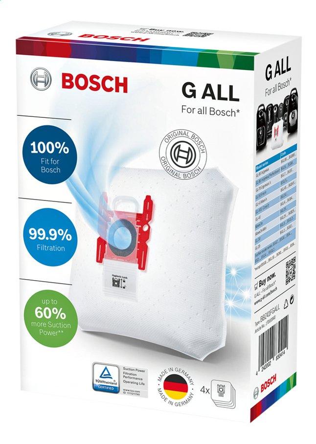 Image pour Bosch 4 sacs pour aspirateur BBZ41FGALL avec microfiltre à partir de ColliShop