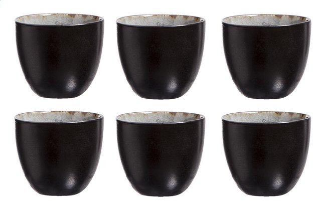 Image pour Cosy & Trendy 6 tasses à thé Laguna blue grey Ø 6,5 cm à partir de ColliShop