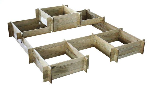Image pour Forest-Style carré potager Angelic modulaire à partir de ColliShop