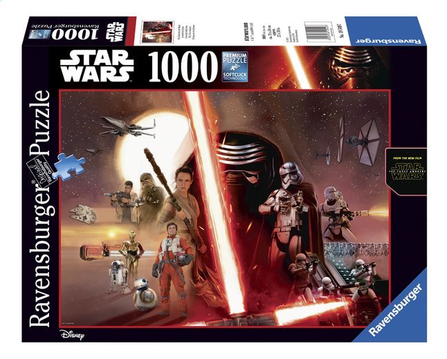 Afbeelding van Ravensburger puzzel Star Wars The Force Awakens from ColliShop
