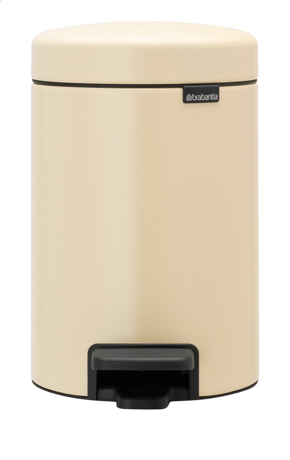 Afbeelding van Brabantia Pedaalemmer newIcon almond 3 l from ColliShop