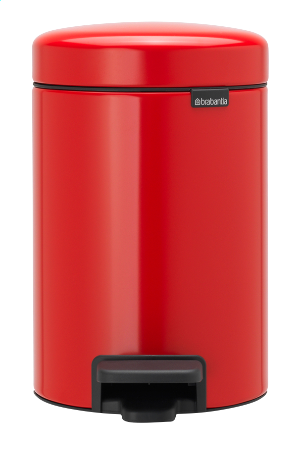 Afbeelding van Brabantia Pedaalemmer NewIcon passion red from ColliShop