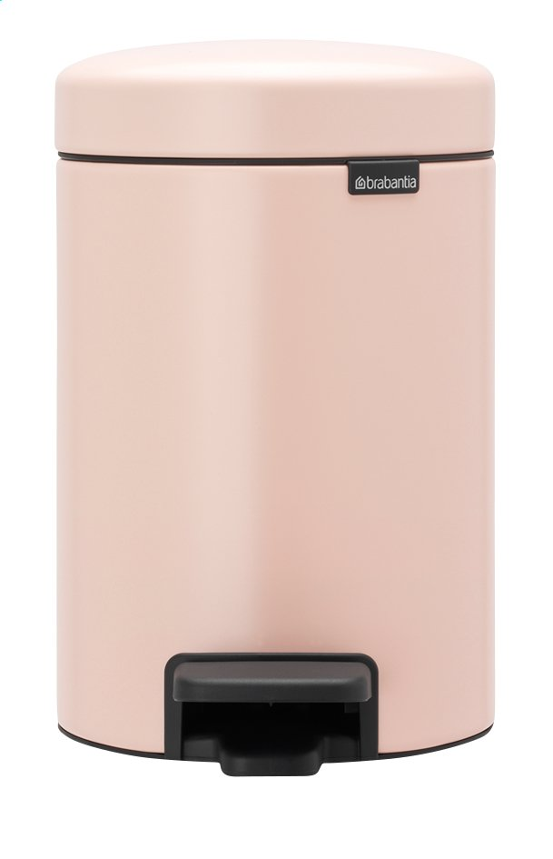 Afbeelding van Brabantia Pedaalemmer NewIcon Clay Pink 3 l from ColliShop