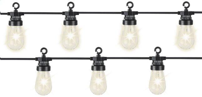 Guirlande lumineuse LED 20 lampes blanc chaud