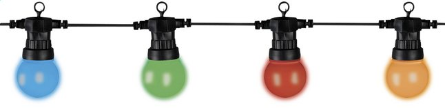 Image pour Guirlande lumineuse LED 20 lampes multicolor - kit d'extension à partir de ColliShop
