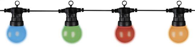 Afbeelding van Slingerverlichting led 20 lampjes multicolor - uitbreiding from ColliShop