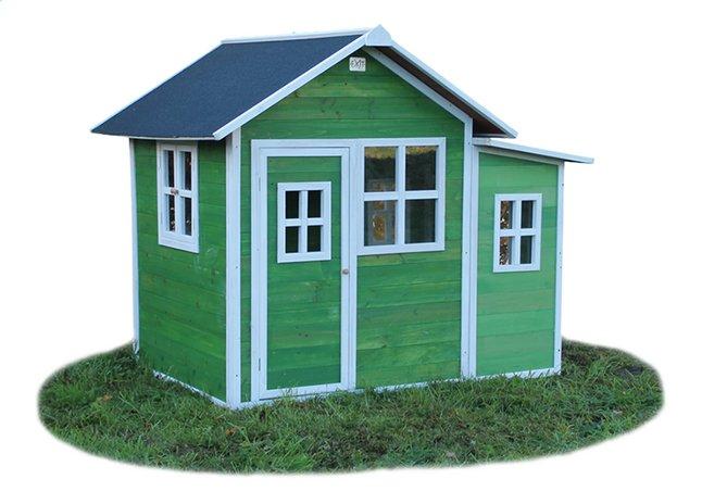 Image pour EXIT maisonnette en bois Loft 150 vert à partir de ColliShop