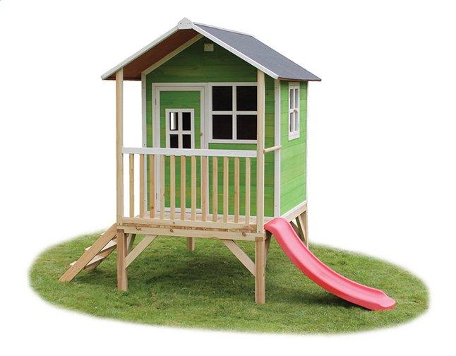 Image pour EXIT maisonnette en bois Loft 300 vert à partir de ColliShop