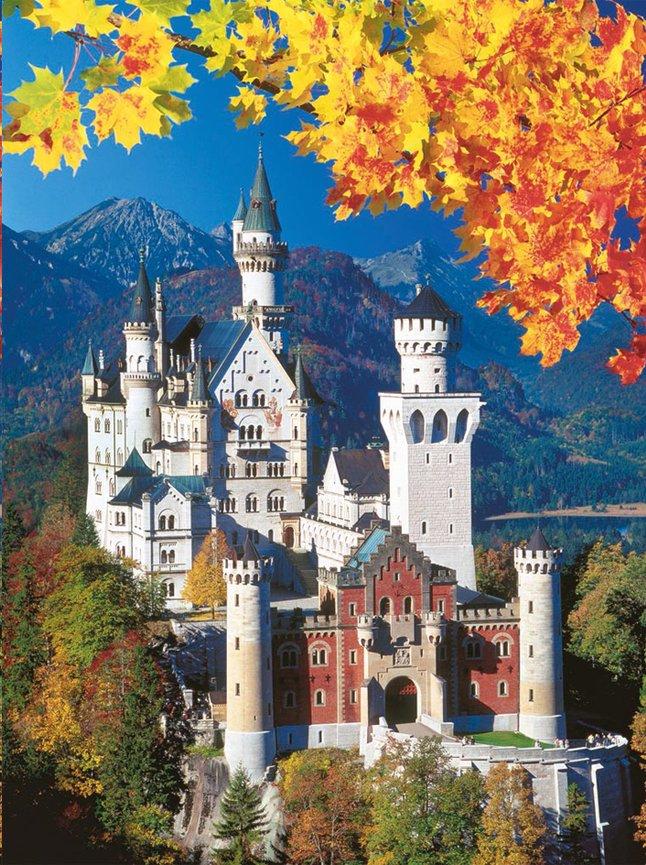 Afbeelding van Ravensburger puzzel Neuschwanstein in de herfst from ColliShop