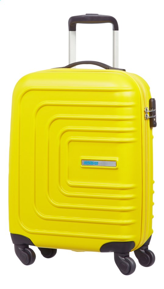 American Tourister valise rigide Sunset Square Spinner Sunset Yellow