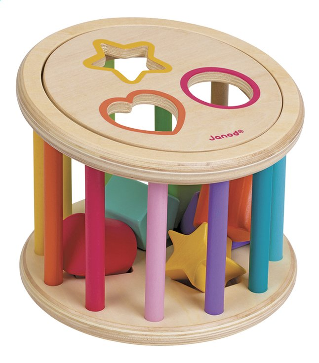 Afbeelding van Janod Vormsorteerder Shape Sorter Drum from ColliShop