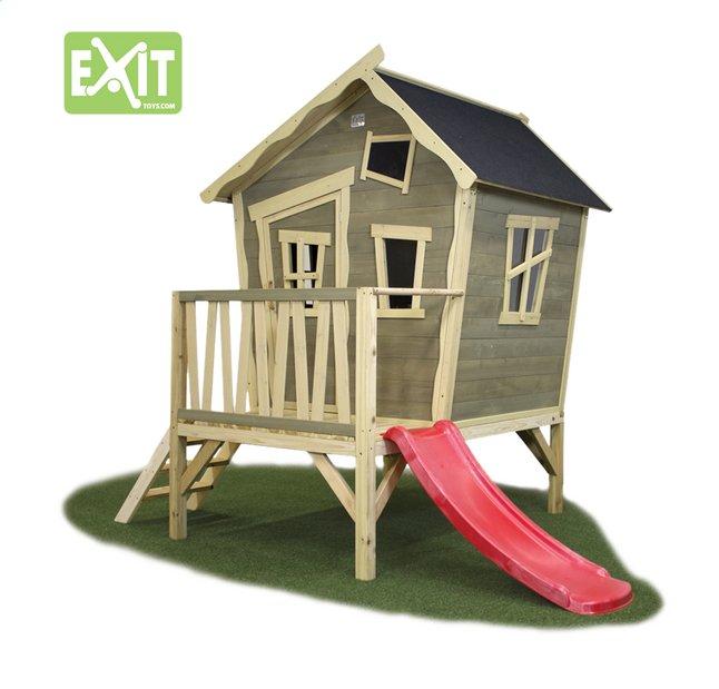 Afbeelding van EXIT houten speelhuisje Crooky 300 from ColliShop