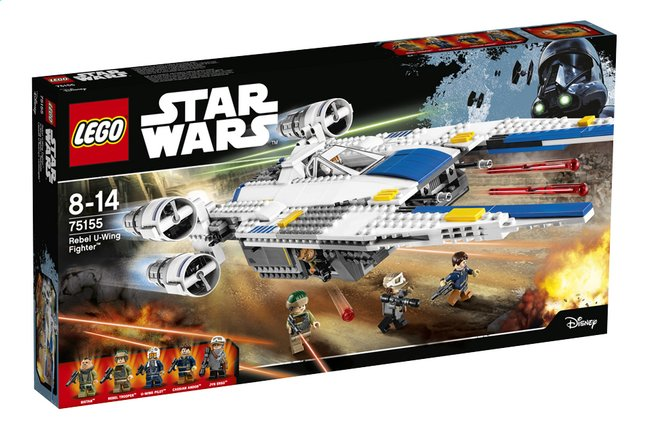 Afbeelding van LEGO Star Wars 75155 Rebel U-Wing Fighter from ColliShop