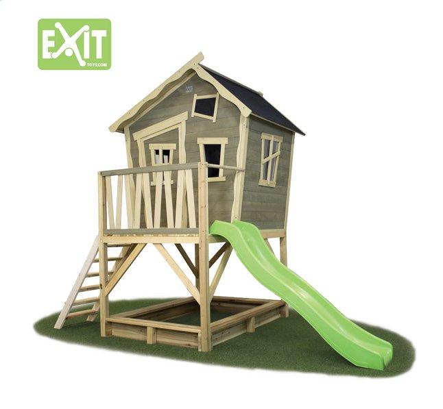 Image pour EXIT maisonnette en bois Crooky 500 à partir de ColliShop