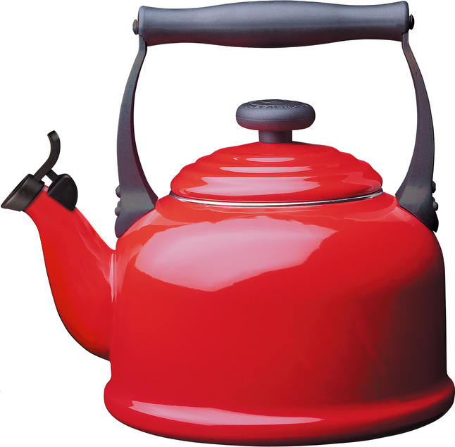 Afbeelding van Le Creuset fluitketel Tradition 2,1 l rood from ColliShop