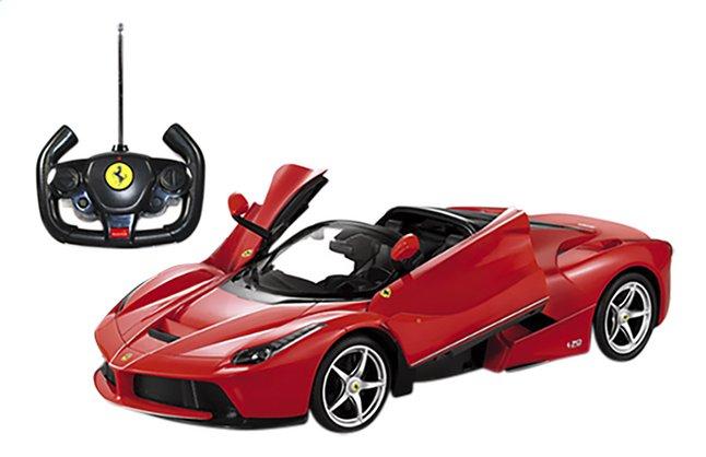 Image pour Rastar voiture RC Ferrari LaFerrari Aperta rouge à partir de ColliShop