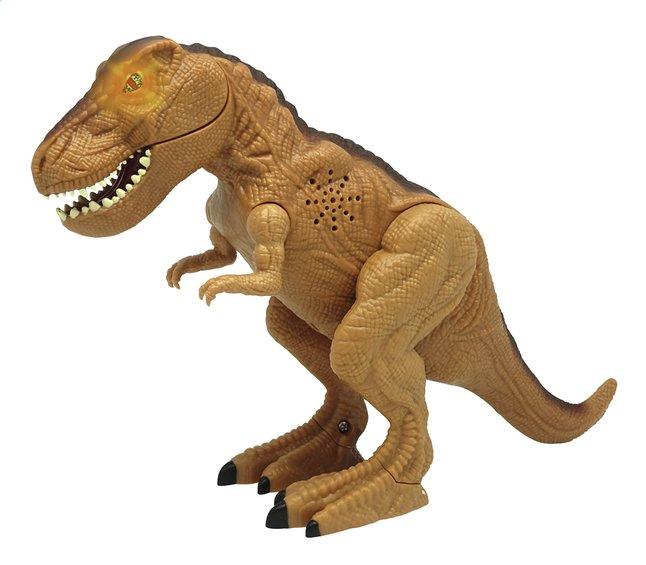 Image pour Figurine Mighty Megasaur Tyrannosaurus Rex brun à partir de ColliShop