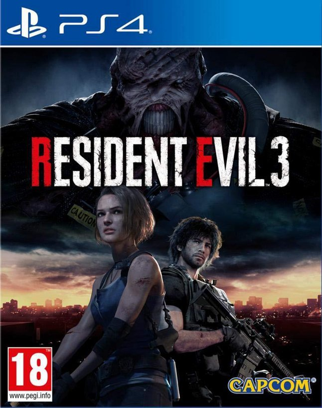 PS4 Resident Evil 3 FR/ANG