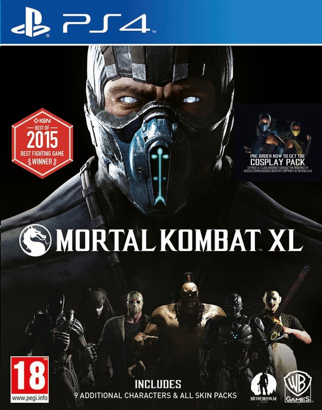 Afbeelding van PS4 Mortal Kombat XL ENG/FR from ColliShop