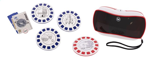 Afbeelding van View-Master Virtual Reality Starter Pack + Experience Pack Ruimte from ColliShop