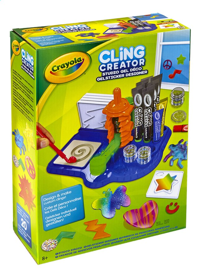 Afbeelding van Crayola Cling creator from ColliShop