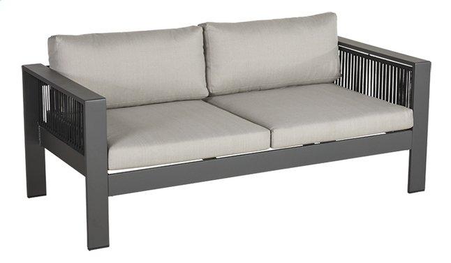 Image pour Ocean fauteuil de jardin 2 places Porto Charcoal à partir de ColliShop