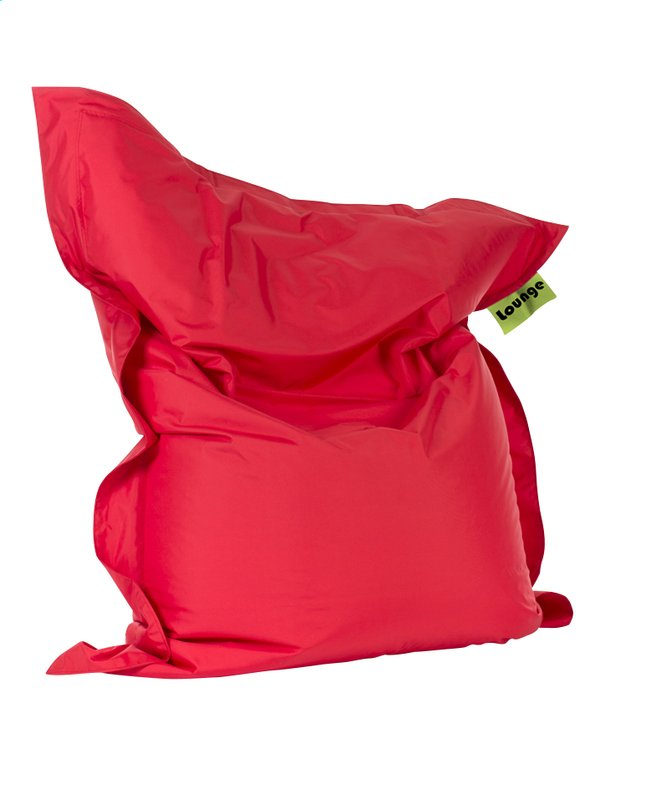 Image pour Pouf Grand rouge à partir de ColliShop