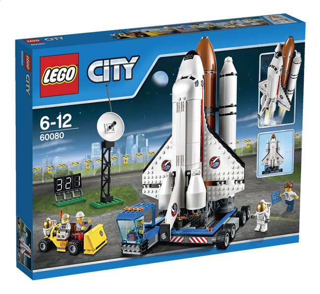 Afbeelding van LEGO City 60080 Lanceerbasis from ColliShop