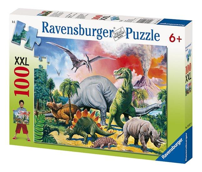 Afbeelding van Ravensburger puzzel Tussen de dinosauriërs from ColliShop