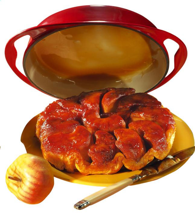 Image pour Le Creuset plat à tarte Tatin rouge à partir de ColliShop