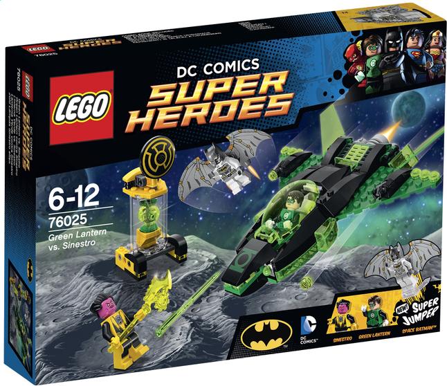 Afbeelding van LEGO Super Heroes 76025 Green Lantern tegen Sinestro from ColliShop
