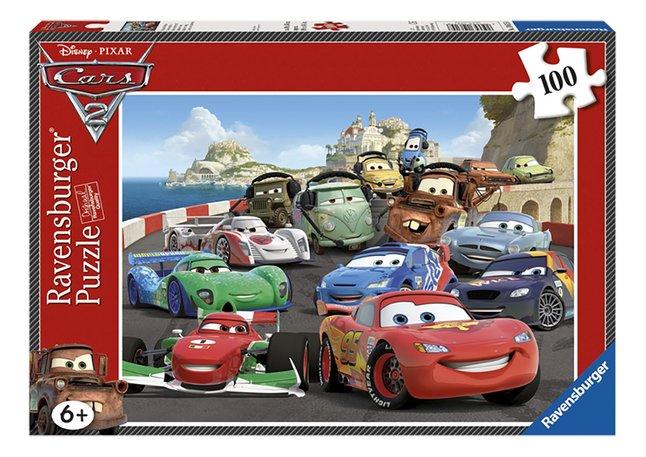 Image pour Ravensburger puzzle XL Cars 2 Course explosive à partir de ColliShop