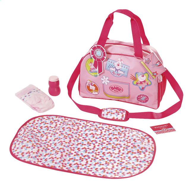 Afbeelding van BABY born luiertas voor poppen met accessoires from ColliShop