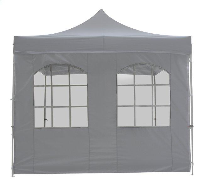 Image pour Paroi avec fenêtre polyester 3 m gris à partir de ColliShop