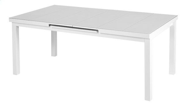 Image pour Table de jardin à rallonge Victoria blanc L 180 x Lg 100 cm à partir de ColliShop
