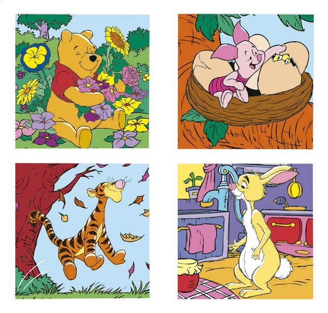 Image pour Ravensburger puzzle évolutif 4 en 1 Winnie & Co à partir de ColliShop