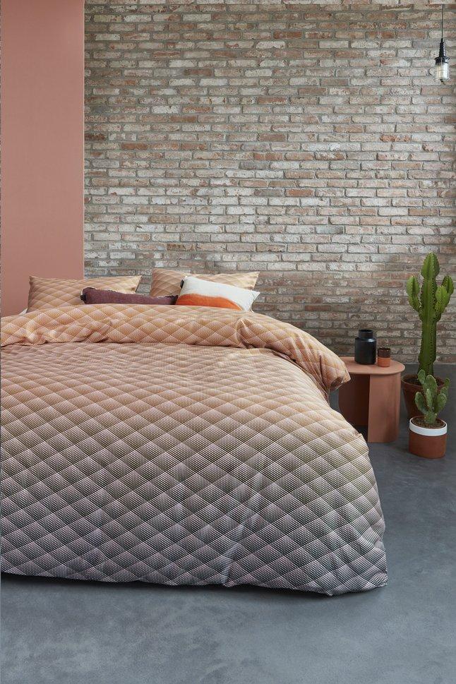 Afbeelding van Beddinghouse Dekbedovertrek Vinz Nude katoensatijn from ColliShop