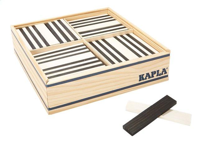 Afbeelding van KAPLA zwart en wit - 100 stuks from ColliShop