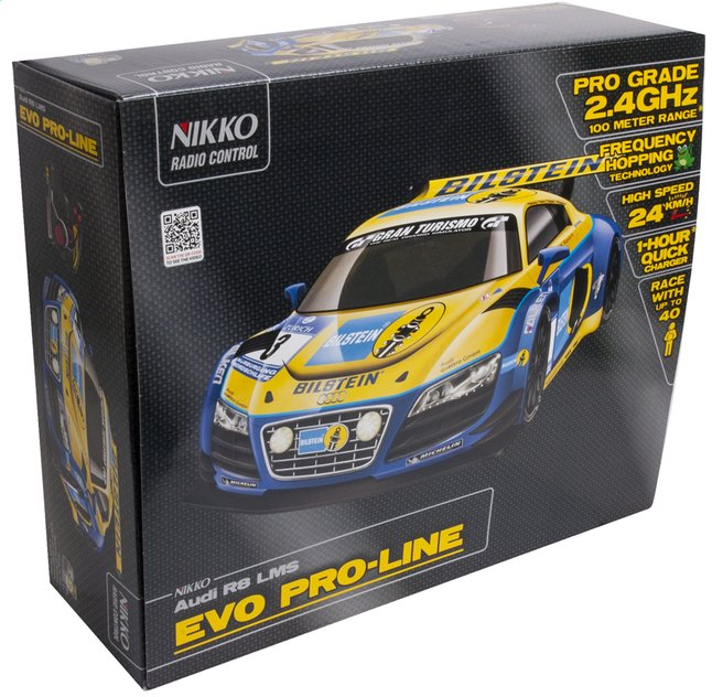Afbeelding van Nikko auto RC Audi R8 LMS Francorchamps from ColliShop