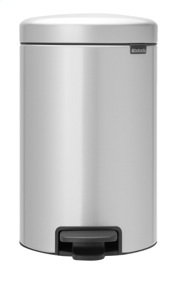 Afbeelding van Brabantia Pedaalemmer newIcon metallic grey 12 l from ColliShop